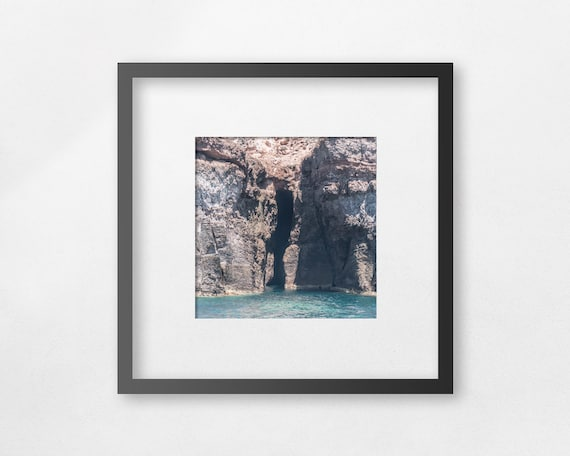 Fine art print - A portal where space meets time, I came from there - unframed
