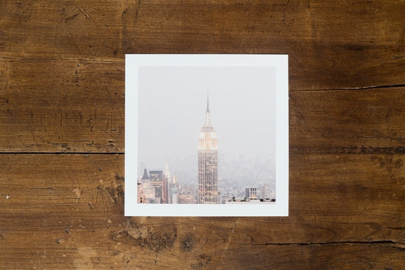 Empire State Building – study n. 1 - Fine art print