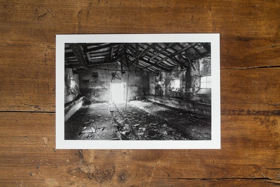 Abandoned Stable in the Roman Countryside - Fine Art Print