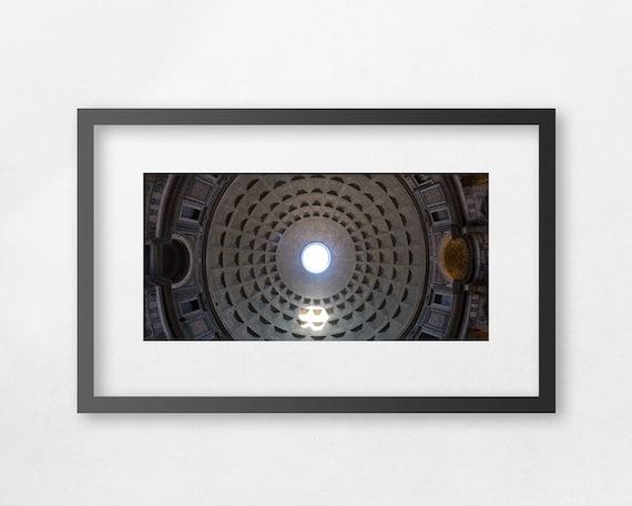 Fine art print - 43 m, The Roman Pantheon Dome - unframed