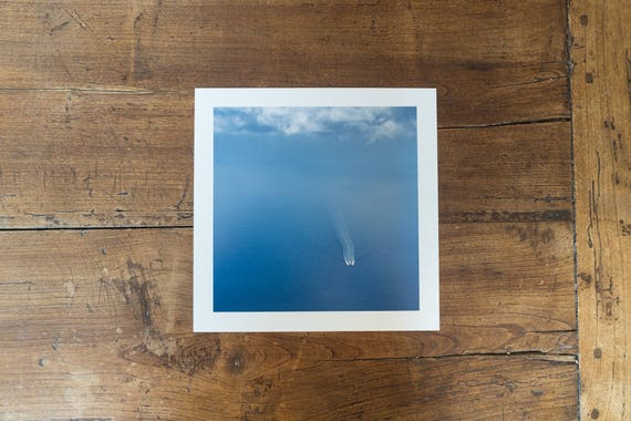 Central  Tyrrhenian Sea, Western Mediterranean Sea - Fine art print