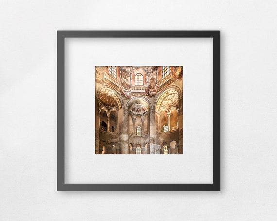 Fine art print - Basilica of San Vitale - study n.2 - unframed