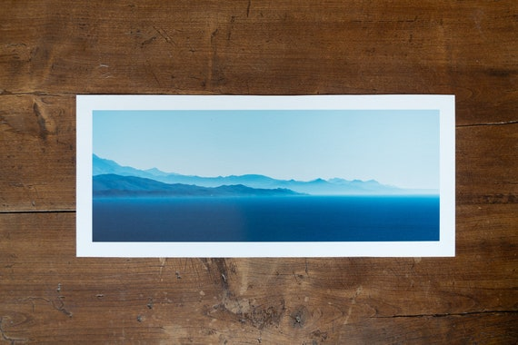 Afternoon Layers of Blue - Fine art print