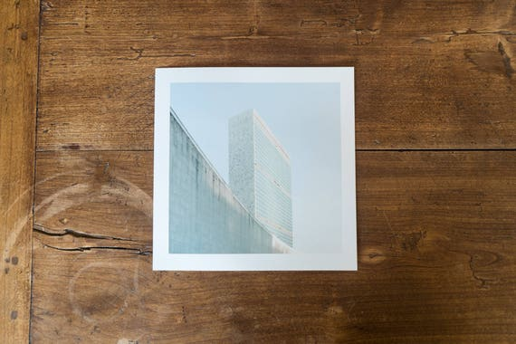 Headquarters of the United Nations – study n.1 - Fine art square print
