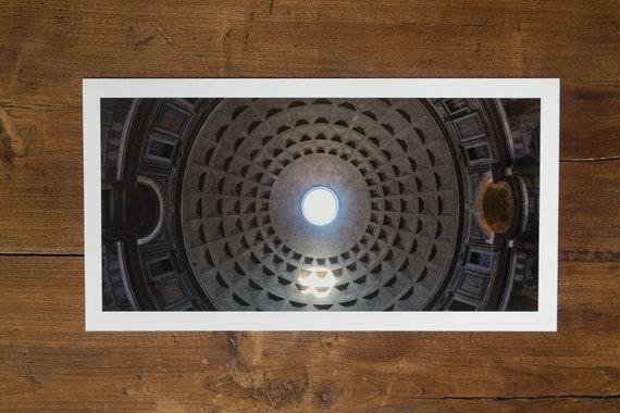 43 m - The Roman Pantheon Dome - fine art print