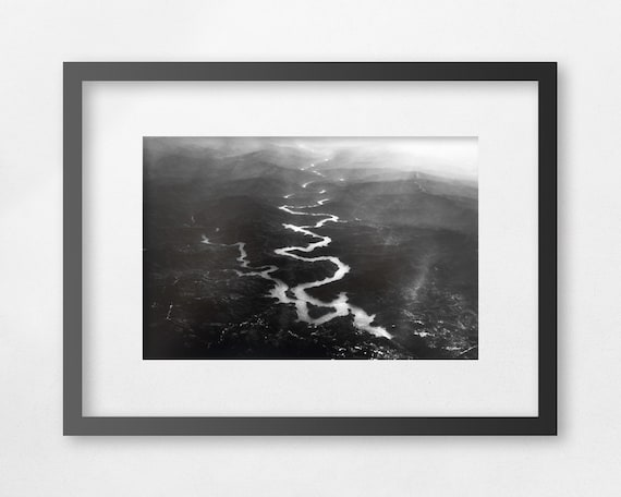 A PLACE OF DARKNESS - Fine art black and white print - unframed