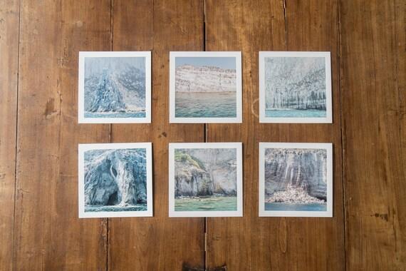 The talking Stones - set of 6 fine art square prints