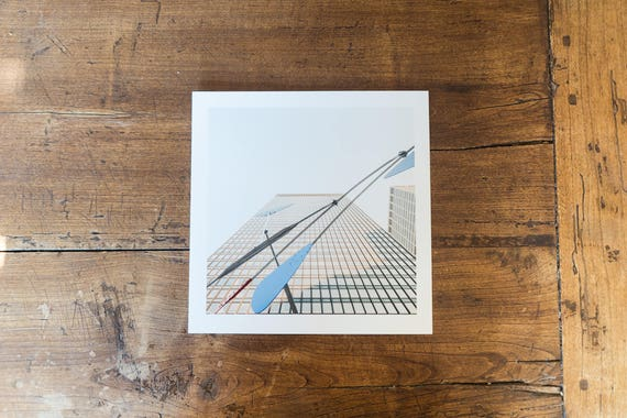 The Seagram Building and Ordinary - Fine art square print