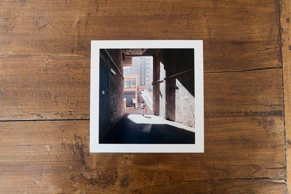 Light through the Blocks - The Fine art square print