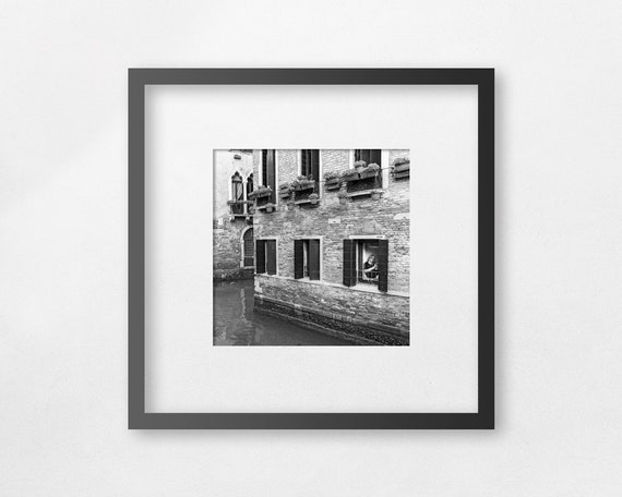 Fine art square print - Venetian Window - unframed