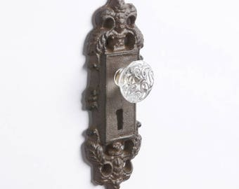 antique looking door knobs. Vintage Crystal Door Knob / Drawer Pull Antique Looking Knobs K