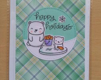 HappyHolidays|Bears|Fishing