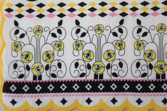 Authentic Anna Sui designer scallop edges Birds c… - image 6