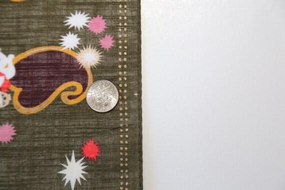 Authentic Anna Sui designer cotton scarf neckerch… - image 7