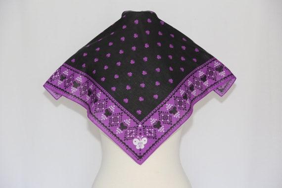 Authentic Anna Sui designer cotton scarf neckerch… - image 1