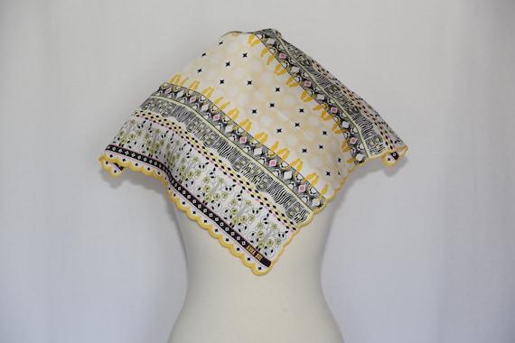 Authentic Anna Sui designer scallop edges Birds c… - image 1