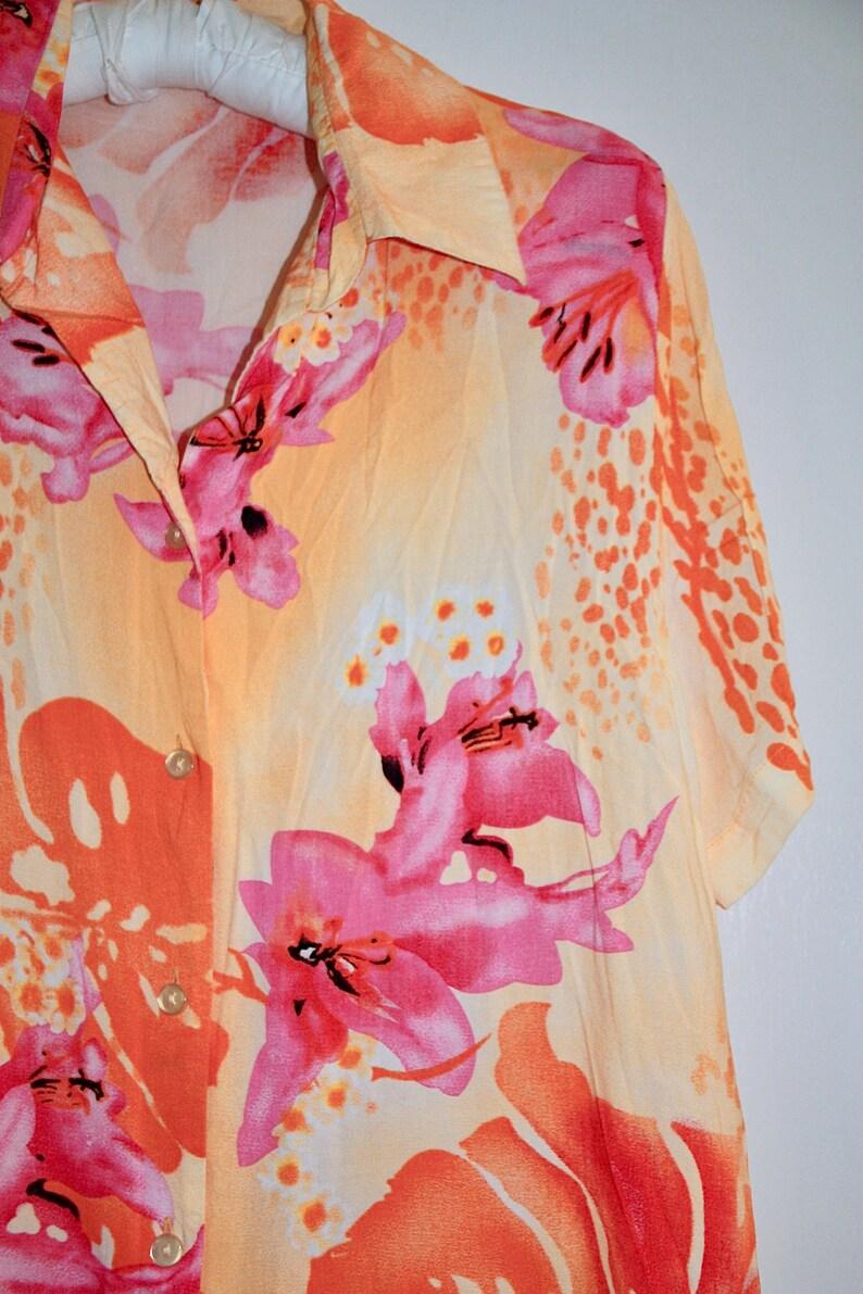 toller Stoff und tolle Farben Iveta Size SM perfect Condition ! SM super Zustand Vintage Hawaiihemd Gr