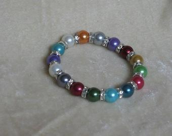 Pearl Bracelet Multicolor