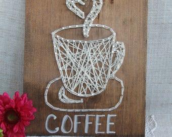 Coffee Lover's String Art