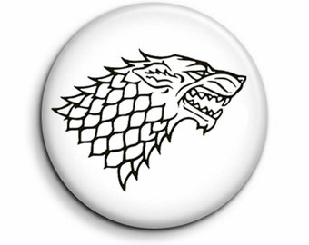 1 Inch Pin Button Badge NOT TODAY Game Of Thrones Arya Stark 25mm