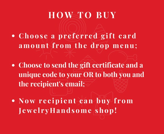 handsome code gift voucher buy