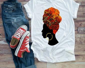 Fire Head Wrap T-shirt