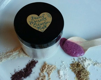 Hibiscus Bliss Cleansing Grains & Mask with Peony