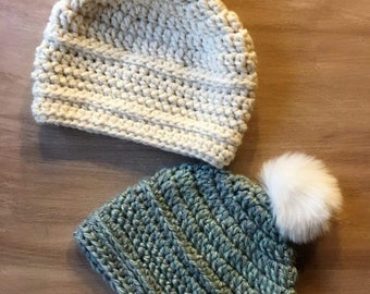 eafc56ebe92 Easy Crochet Beanie Hat Pattern