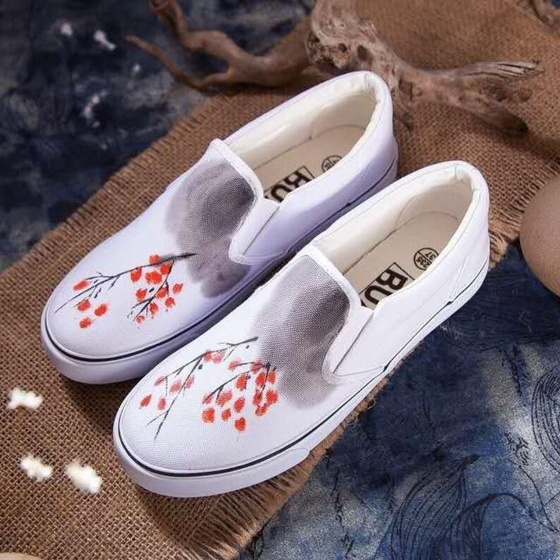 Scarpe personalizzate dipinte a mano scarpe da uomo scarpe FVwSfukF