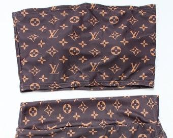 93ec0f865168e Louis Vuitton Inspired Bikini Swimsuit