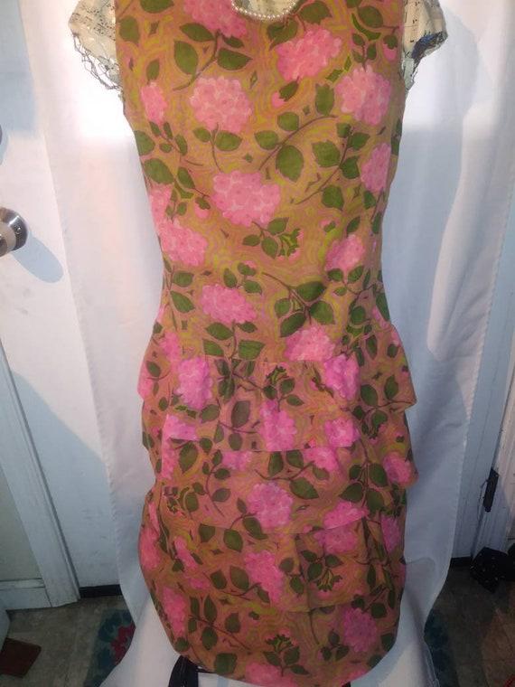 1960s Sleevless Sheath Dress - image 3