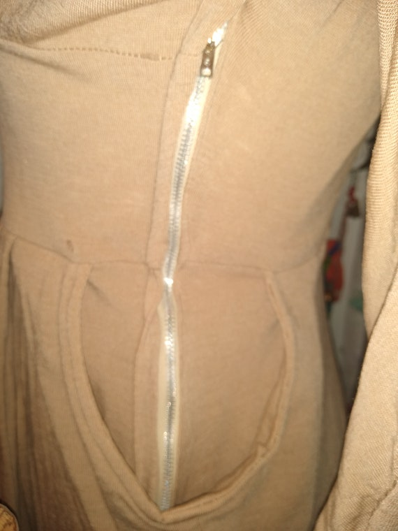 1940s Jersey Day Dress With Belt - image 3