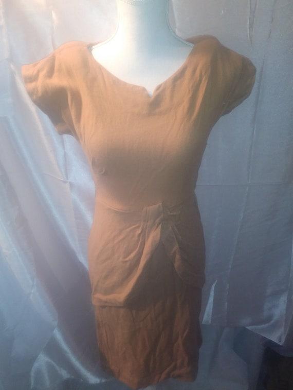 1940s Wiggle Dress