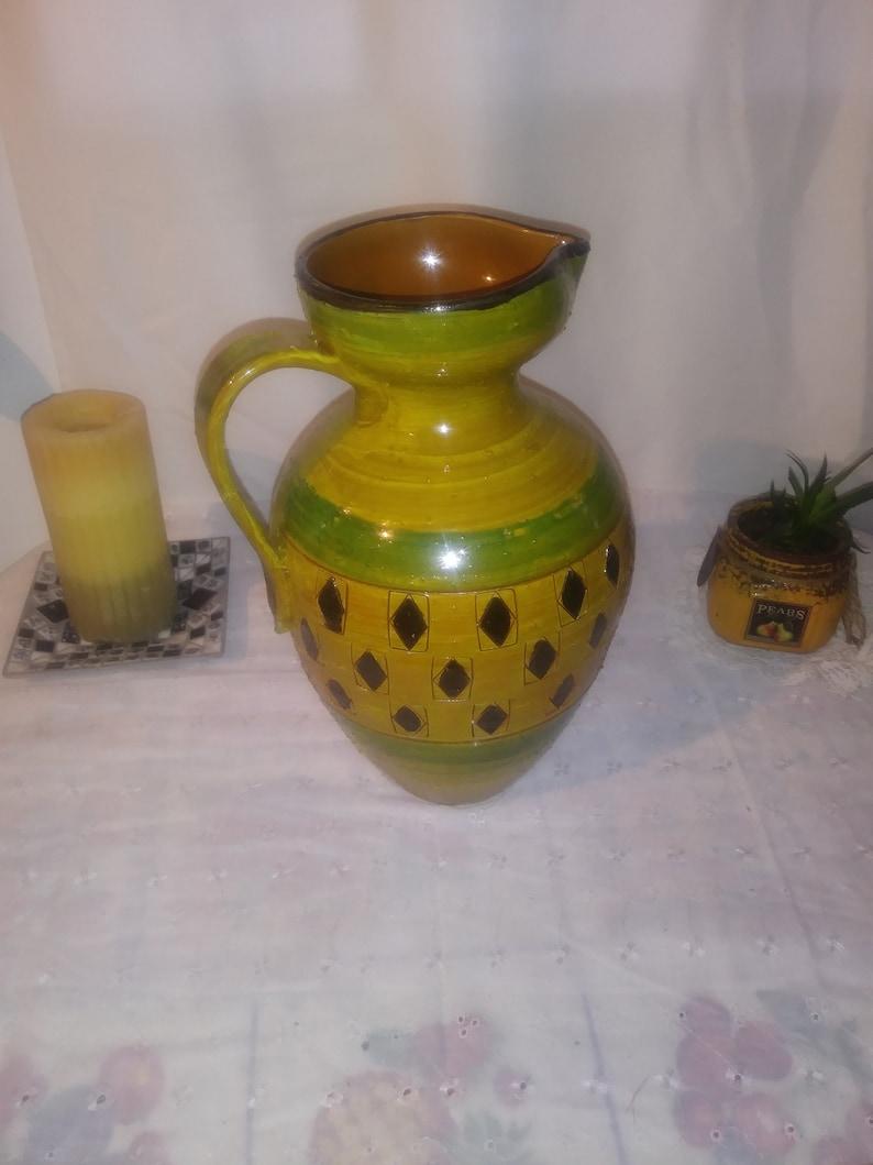 Vintage Mid Century Italian Ceramic Vase