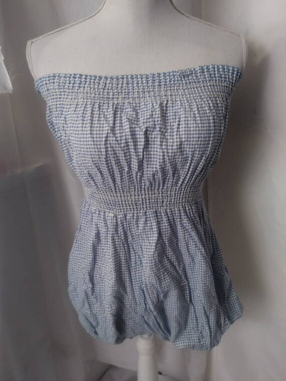 1930s Bloomer Styled Gingham Playsuit