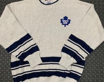 best service 571dd b9d2b Toronto maple leafs sweater | Etsy