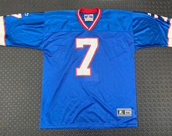 92d97e8b Vintage 90s Buffalo Bills Doug Flutie NFL Starter Jersey