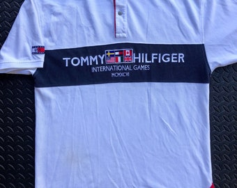 e8849977 1996 Tommy Hilfiger International Games Polo Shirt