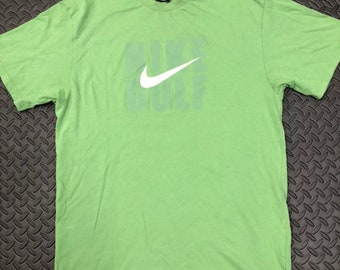 e4afc304d Vintage 90s Nike Golf Spellout T-shirt