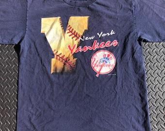 70135f73973d5 Vintage 90s New York Yankees 1996 MLB T-shirt by Nutmeg