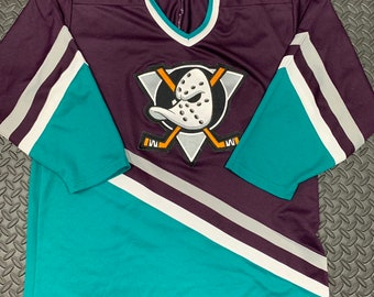 sports shoes 30c2c 113b8 Mighty ducks jersey | Etsy