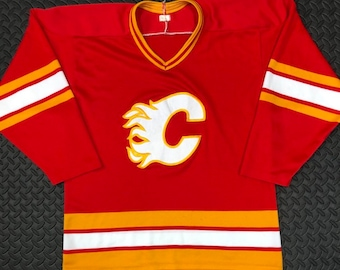 reputable site cbffe c5674 Flames jersey | Etsy