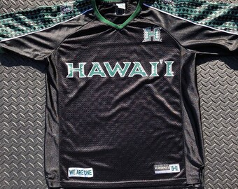 7d1ae9a3 Vintage 90s Hawaii Warriors FBS football jersey
