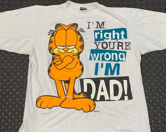 12a7017e Vintage 1995 Garfield The Cat Graphic T-Shirt