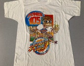 Vintage 80s Power 105 Radio single stitch T Shirt