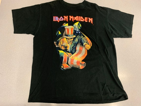 Vintage 90s Iron Maiden 1999 T shirt