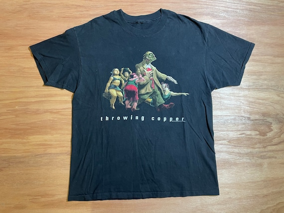 Vintage Throwing Copper Live 1994 Band Shirt by Br