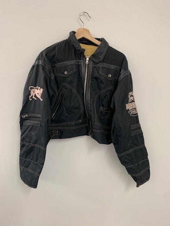 Vintage 90s Parasuco Cropped Style Coat