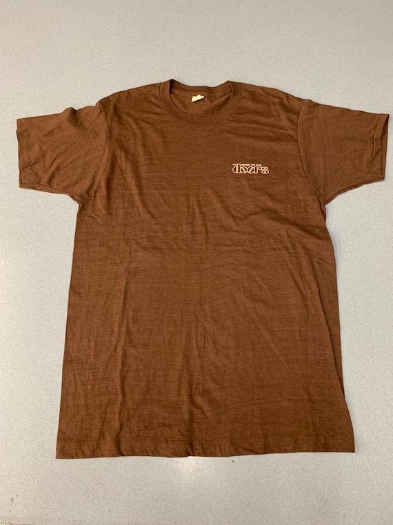 Vintage 70s The Doors Fan Club  Band T-shirt