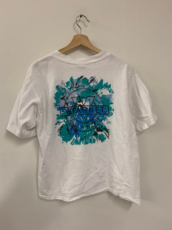Vuarnet neon logo big print Graphic T shirt